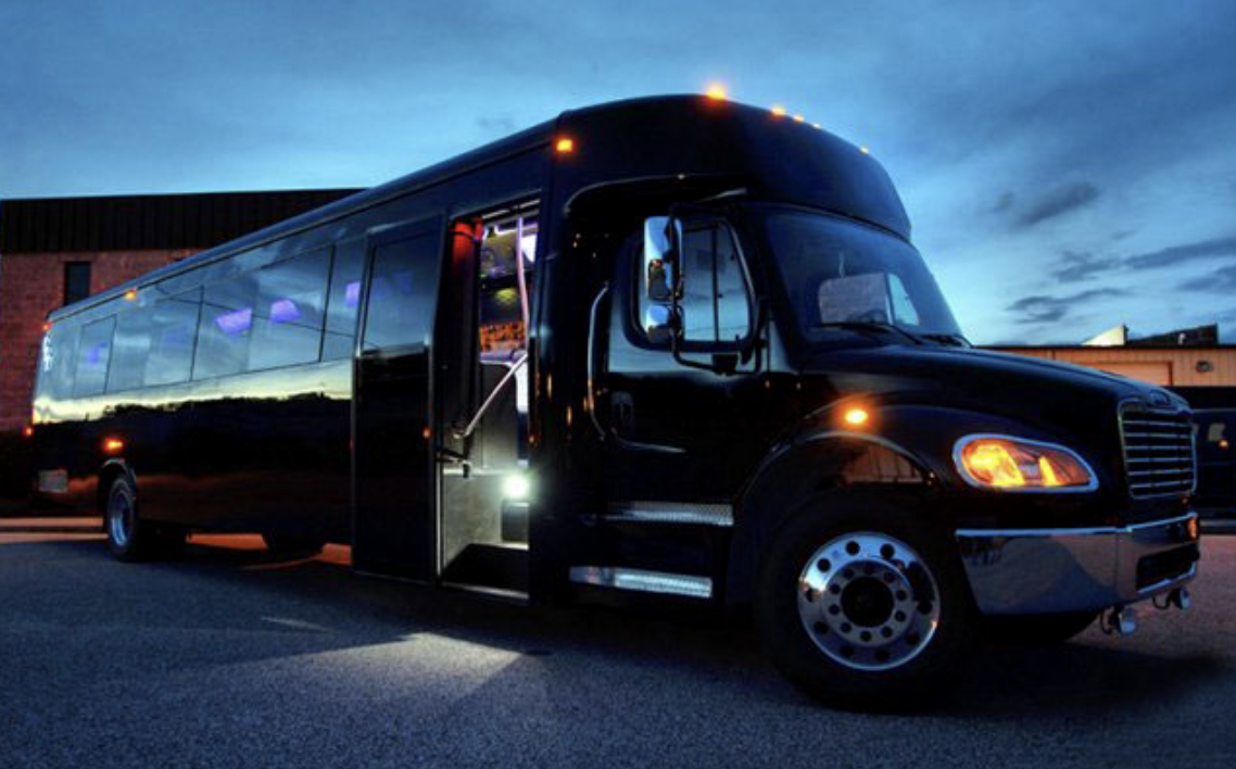 party bus service near me greensboro nc